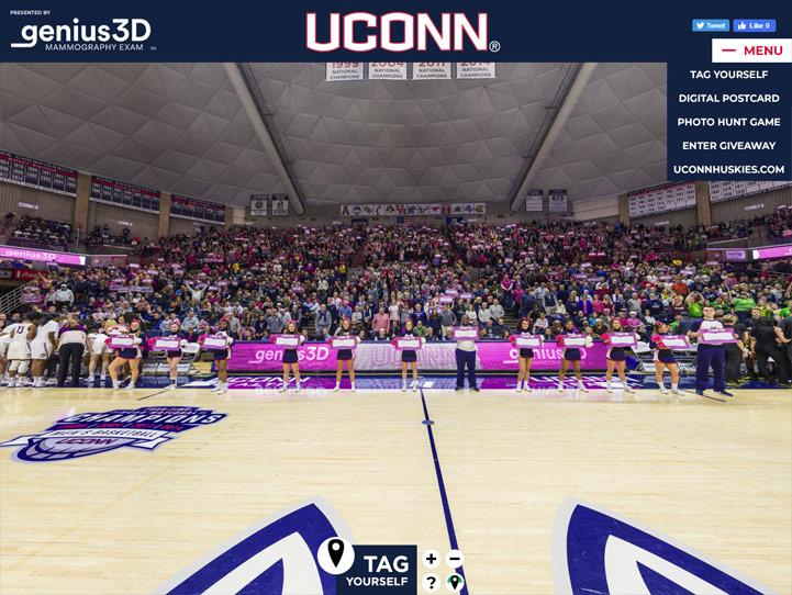 UConn Huskies Gigapixel Fan Photo