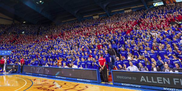 Kansas Jayhawks Gigapixel Fan Photo - Powered by Blakeway Panoramas